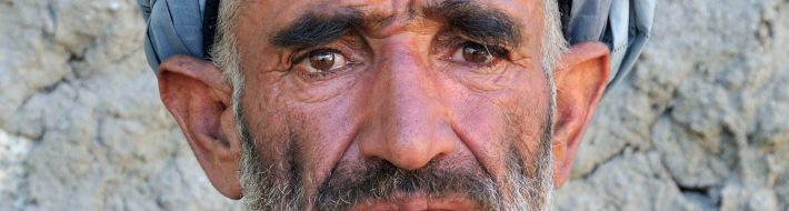 Intense Face of a Man from Kizkut - Wakhan Corridor, Afghanistan