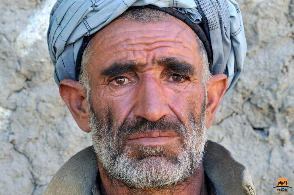 Intense Face of a Man from Kizkut - Wakhan Corridor, Afghanistan