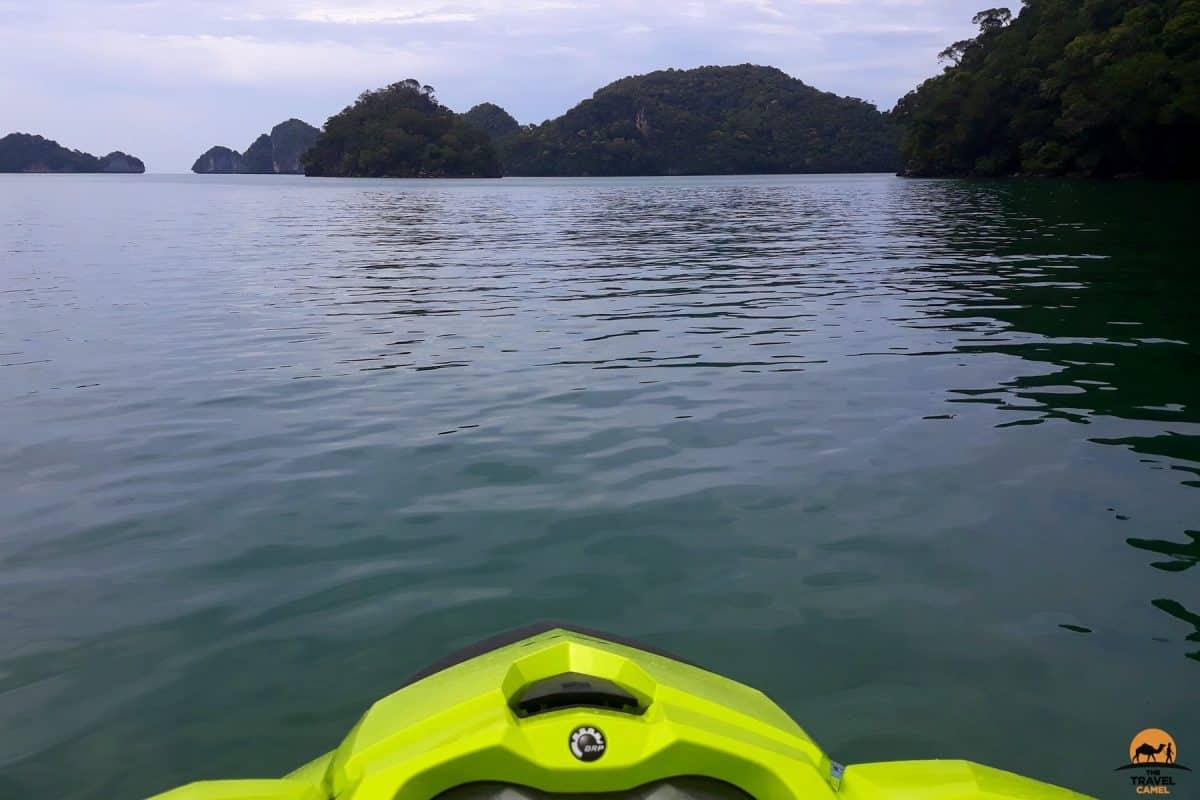 Jet Ski Tour Among the 99 Islands of Langkawi - Malaysia