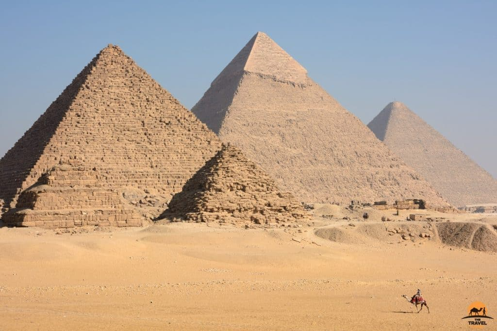 Pyramids of Giza - near Cairo, Egypt