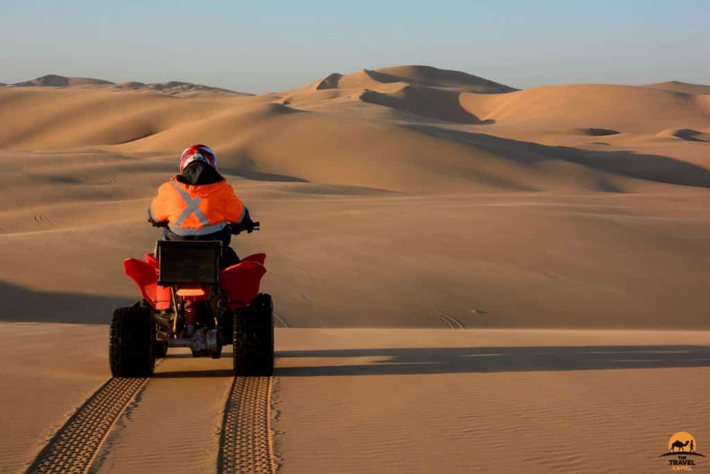 Quad-biking In The Namib Desert, Namibia