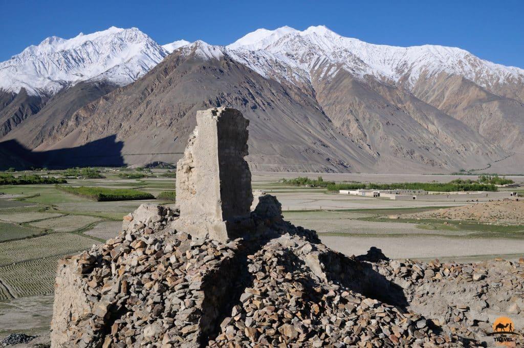 Ruined fort in Qala-e Panja - Afghanistan