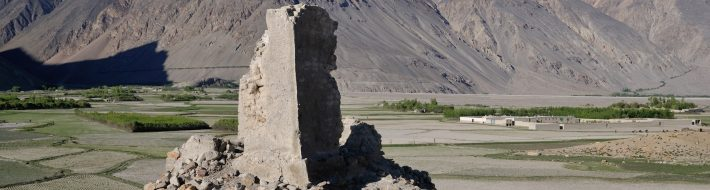 Ruined fort in Qala-e Panja - Afghanistan