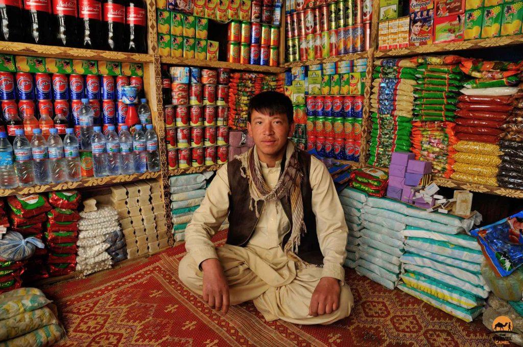 Shop interior in Ishkashim - Afghanistan