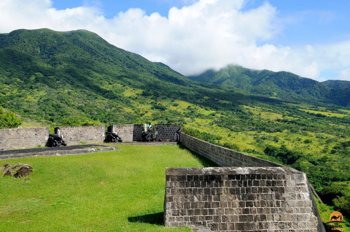 The Glorious Setting of the Brimstone Hill Fortress National Park on St Kitts - St Kitts and Nevis