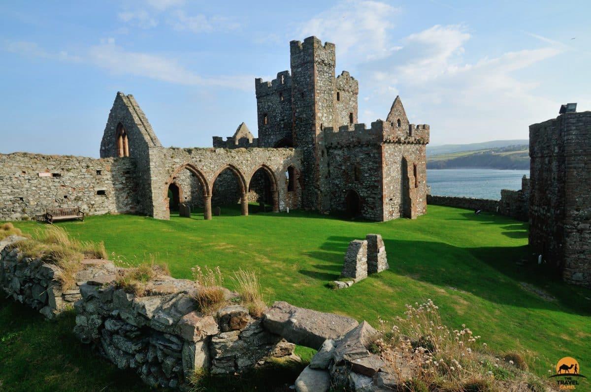 The Historic Peel Castle - Isle of Man