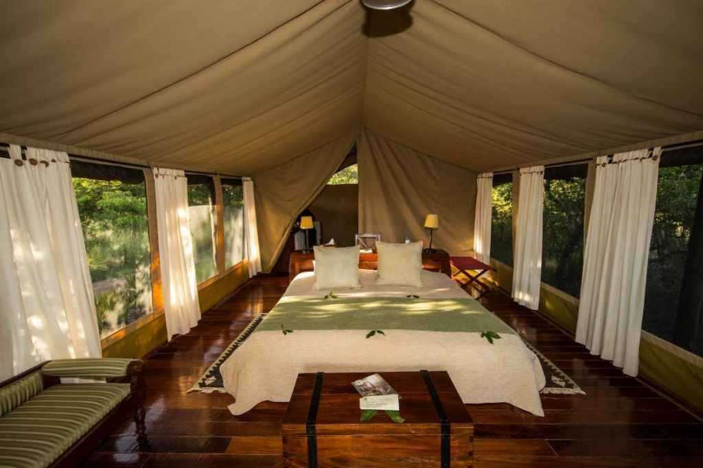 Karen Blixen Camp luxury tent (photo courtesy of Karen Blixen Camp)